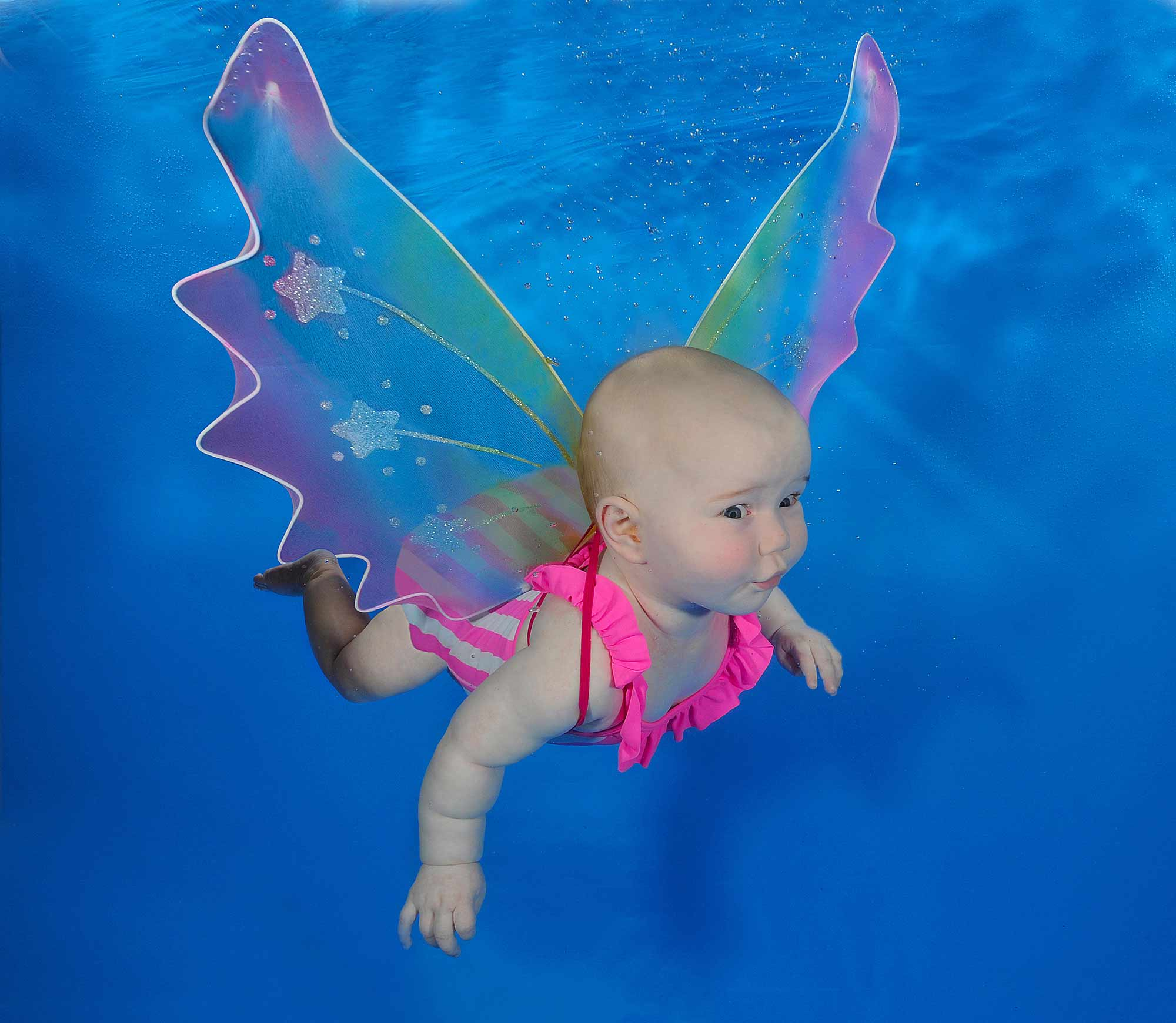 babies swimming lessons