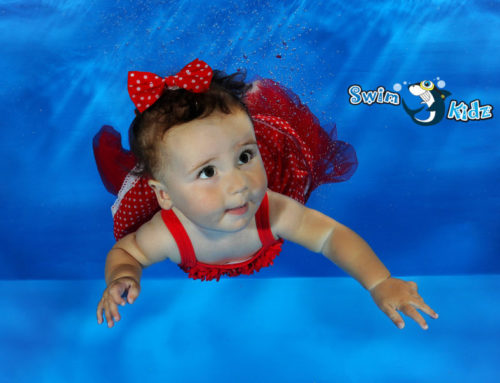 Baby, it's cold outside – swimming in winter for young kids