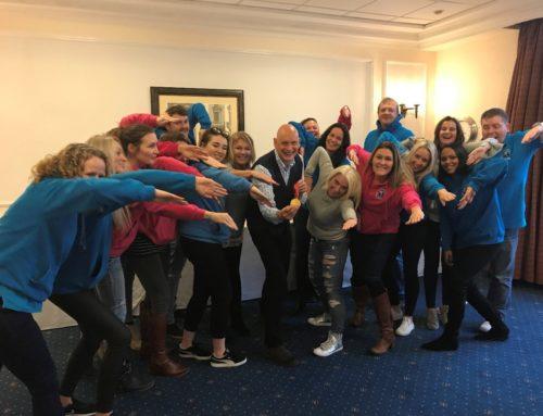 Duncan Goodhew MBE visits Swimkidz