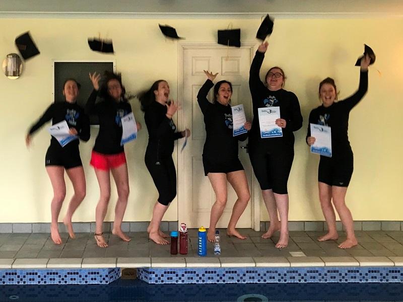 swimkidz swimming instructors Graduation