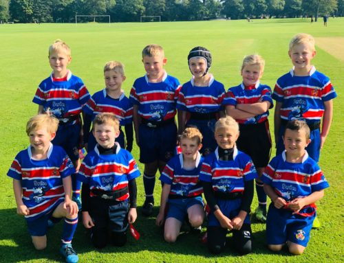 Swimkidz Wales proud to sponsor Pencoed RFC Under 8s Juniors
